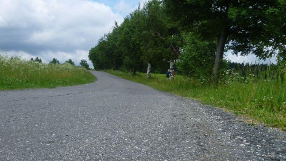 Cesta z Krátké do Samotína