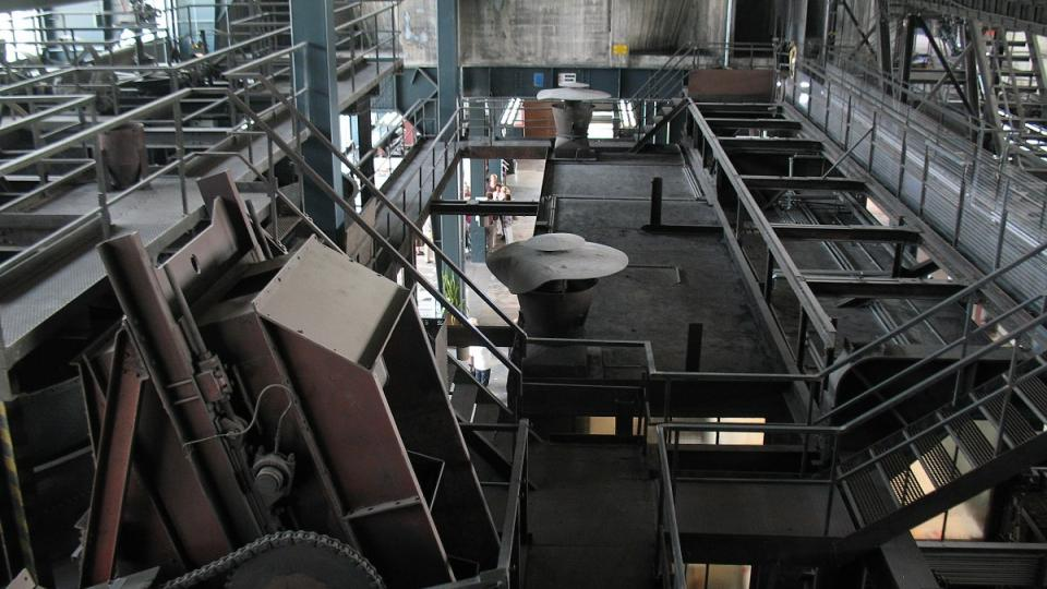 Důl Zollverein měl působit jako dobře fungující stroj