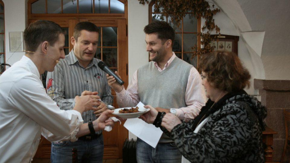 Miroslav Grusz, Vladimír Hron, Patrik Rozehnal a Naďa Konvalinková