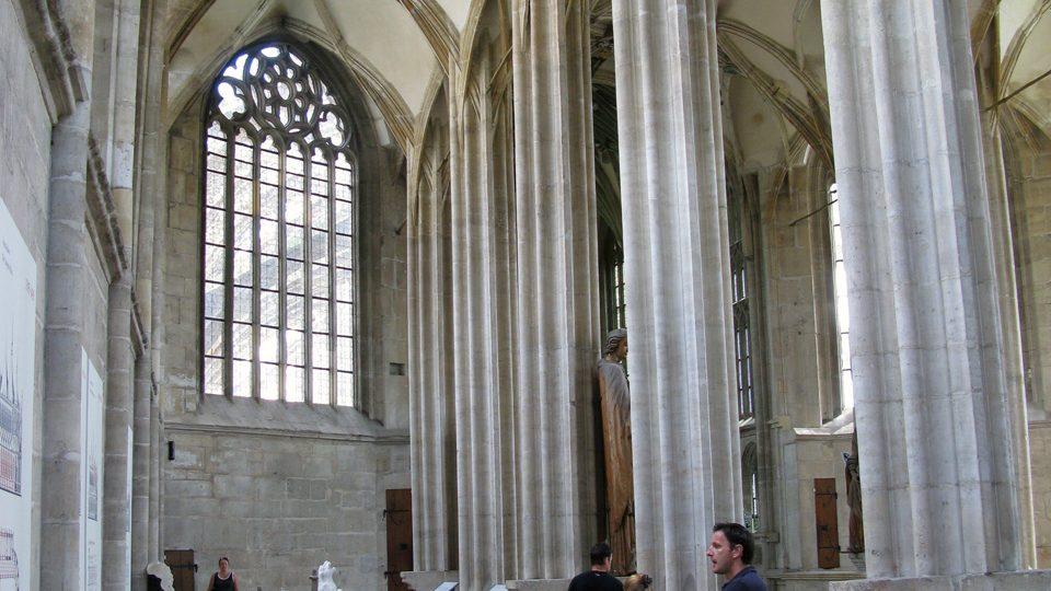 Empora chrámu sv. Barbory