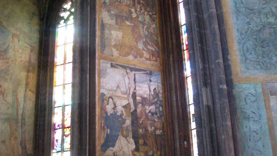 Smíškovská kaple v chrámu sv. Barbory