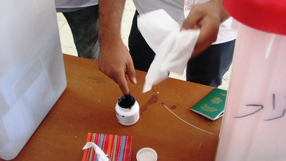 Volební inkoust