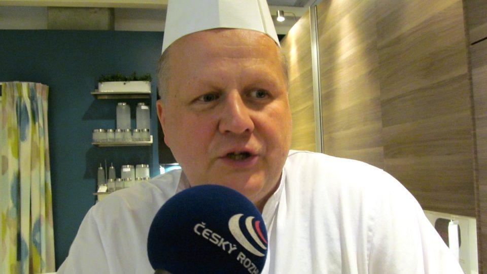 Šéfkuchař Petr Dibdiak