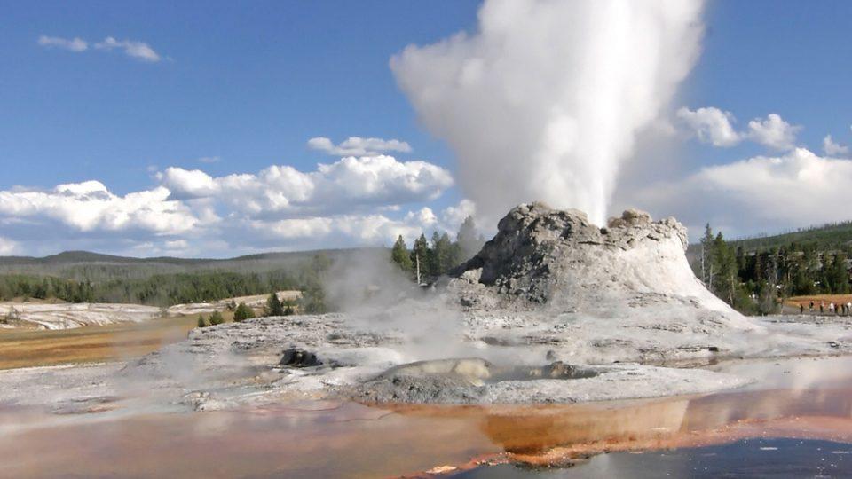 Nejvíc gejzírů najdete v jižní části Yellowstonského národního parku
