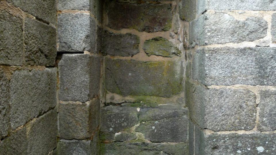 Asi nejslavnější místo na přimdském hradě – prevét