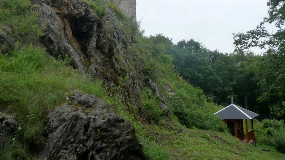 Zříceninou je hrad Přimda už od 17. století