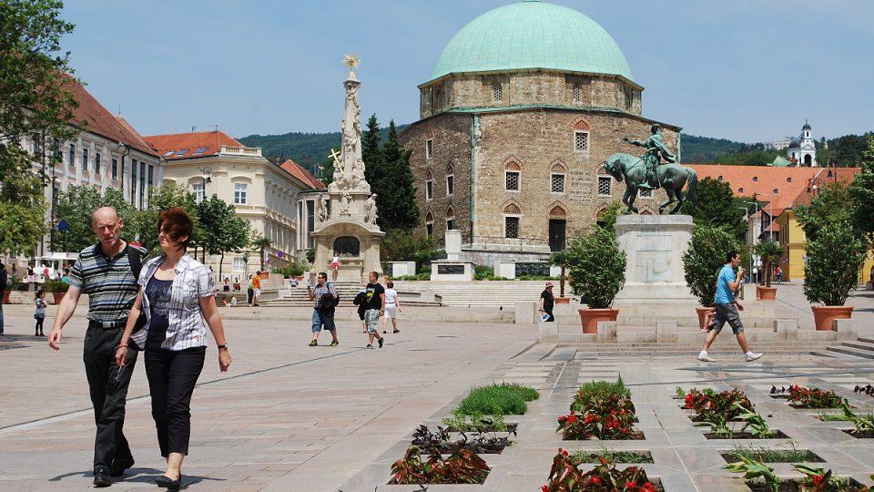 Pécs neboli Pětikostelí je na seznamu UNESCO