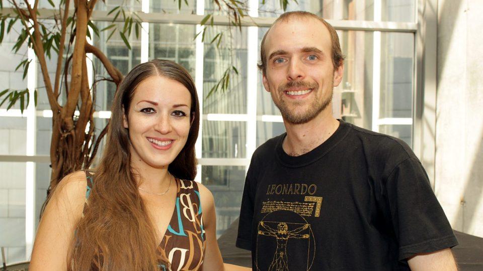 Eva Kvasničková a Filip J. Zvolský