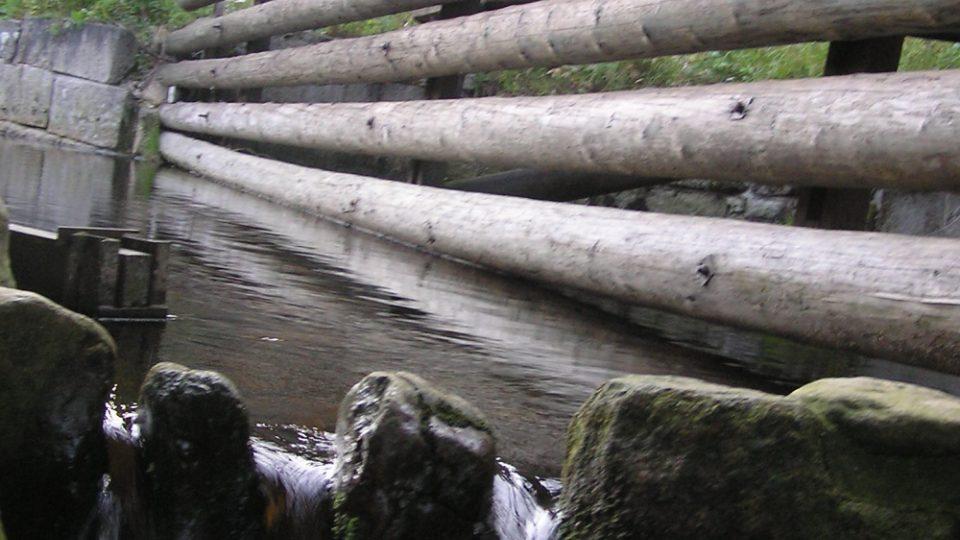 Vydra je chráněnou rybí oblastí, a proto u rekonstruovaného hradlového mostu zvaného Rechle nechybí rybí přechod