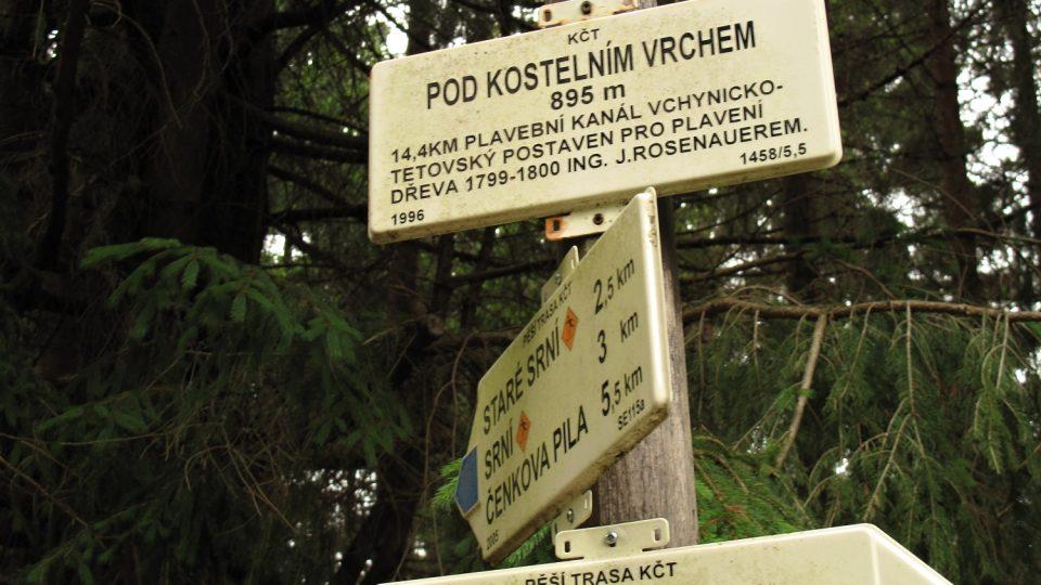 Vchynicko-tetovský plavební kanál vyprojektoval schwarzenberský inženýr Josef Rosenauer v nepřístupném horském terénu