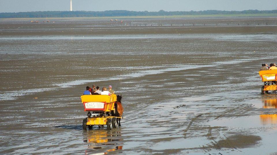 Severní moře se dá objevovat různě: pěšky i z kočáru