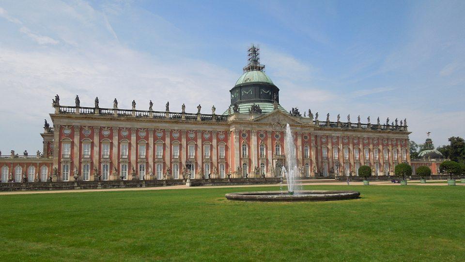 Nový palác – sídlo, kterým se chtěl Fridrich II. Veliký vyrovnat jiným panovnickým palácům