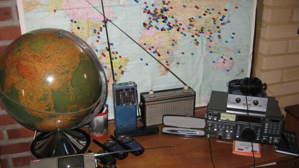 Mapa zachyceného vysílání Jana-Mikaela Nurmely