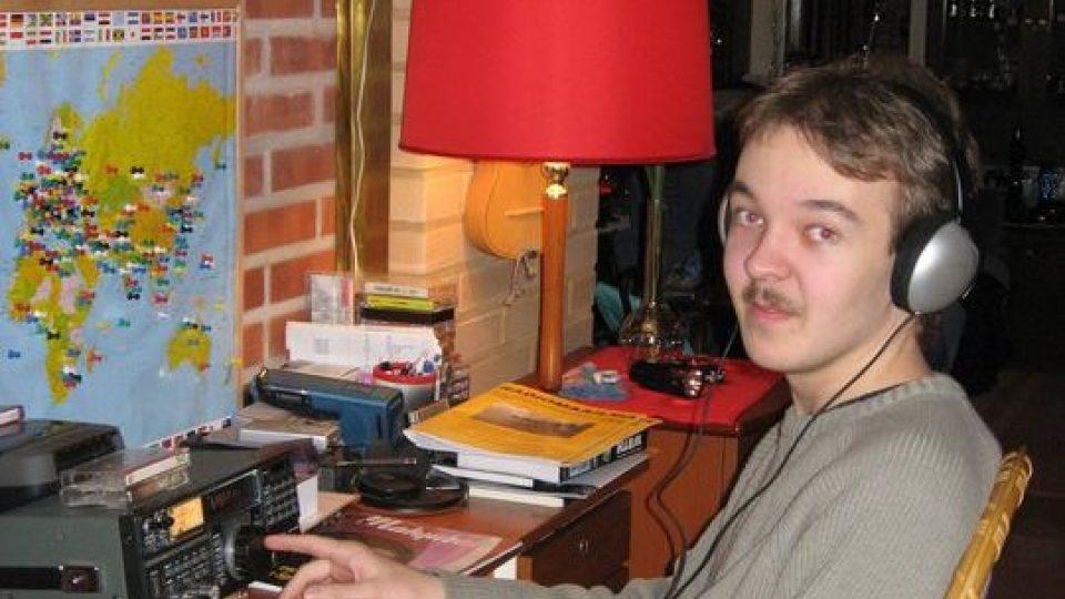 Jan-Mikael Nurmela je nadšený radioamatér