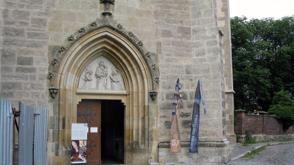Kostel Panny Marie Na Náměti v Kutné Hoře