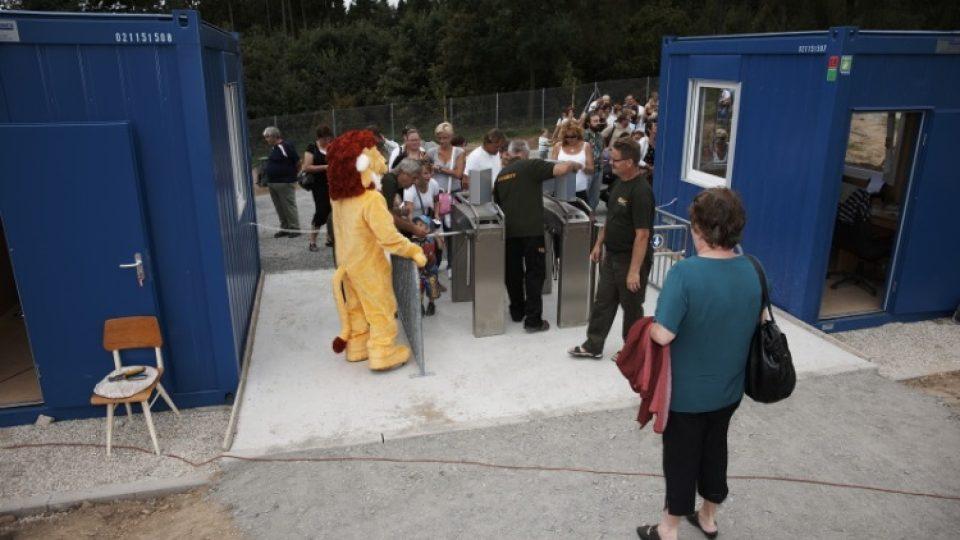 Zoo Tábor-Větrovy byla slavnostně otevřena v srpnu 2011
