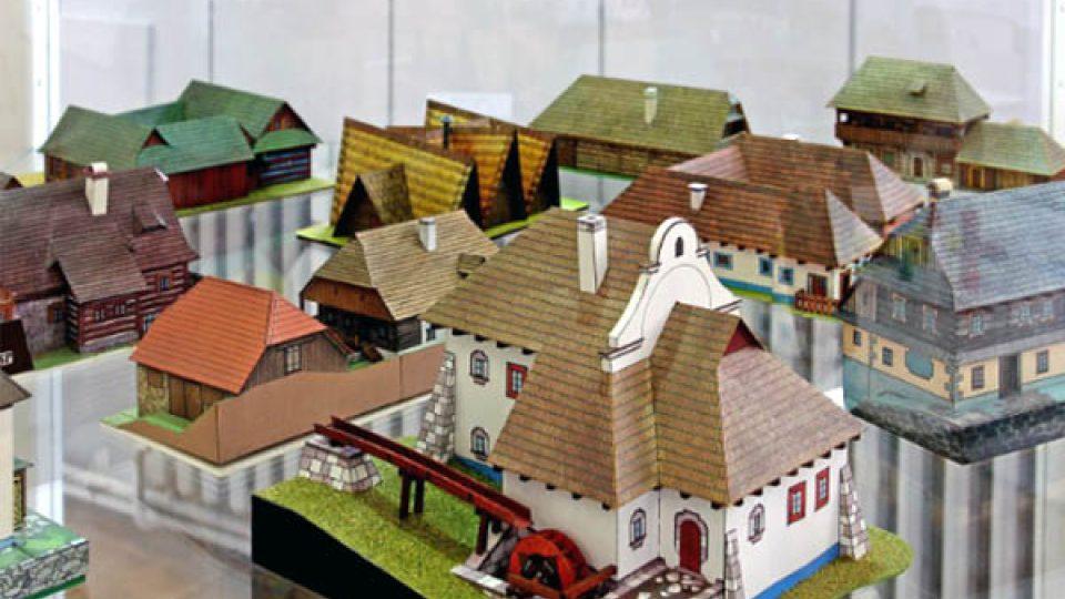 Mezi oblíbené předlohy modelářů patří zejména domky