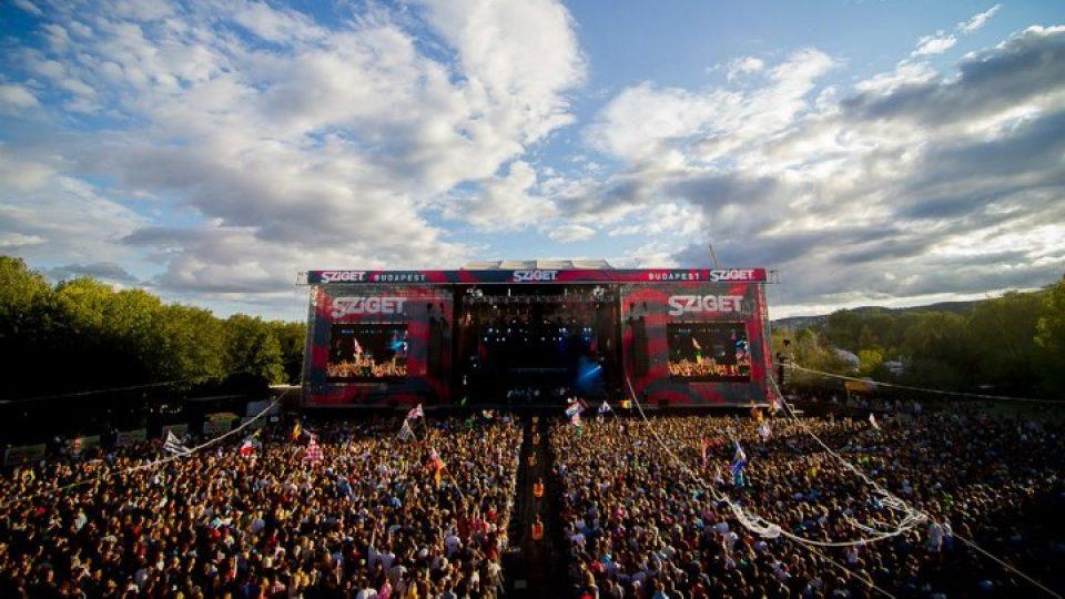 Festival Sziget v Maďarsku
