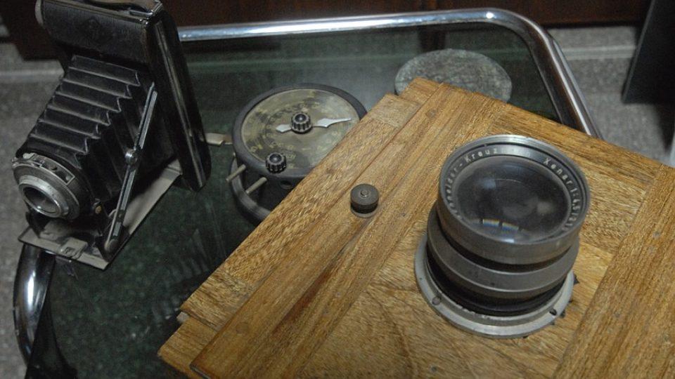 Část vybavení, které Lehnert používal při svých toulkách Orientem