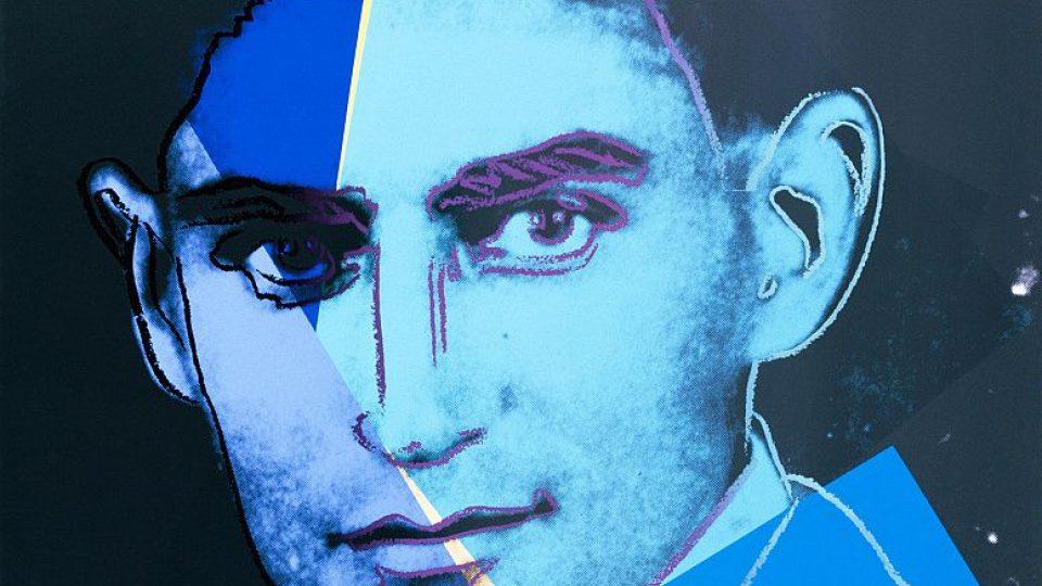 Andy Warhol: Franz Kafka (z cyklu 10 portrétů Židů 20. století), 1980