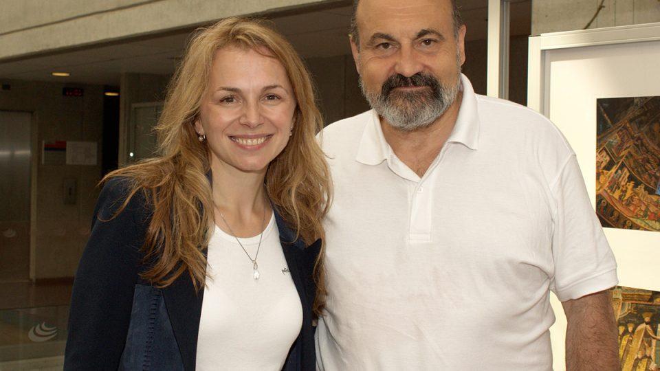 Martina Kociánová a Tomáš Halík