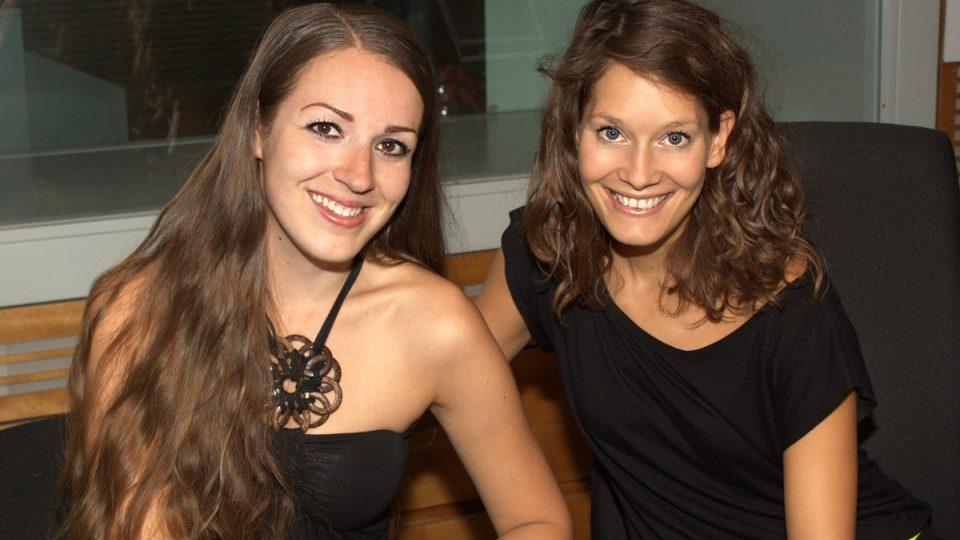 Eva Kvasničková a Barbora Seidlová