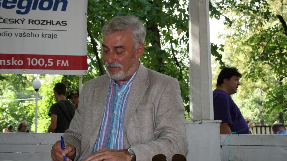 Autogramiáda Jana Rosáka