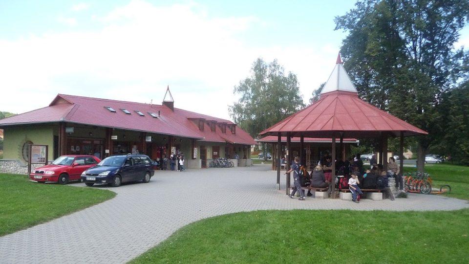 Pokladna Sloupsko-šošůvských jeskyní