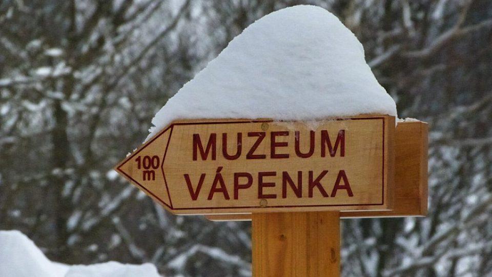 Muzeum Vápenka se nachází v Horních Albeřicích