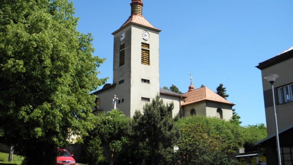 Domaželice - kostel