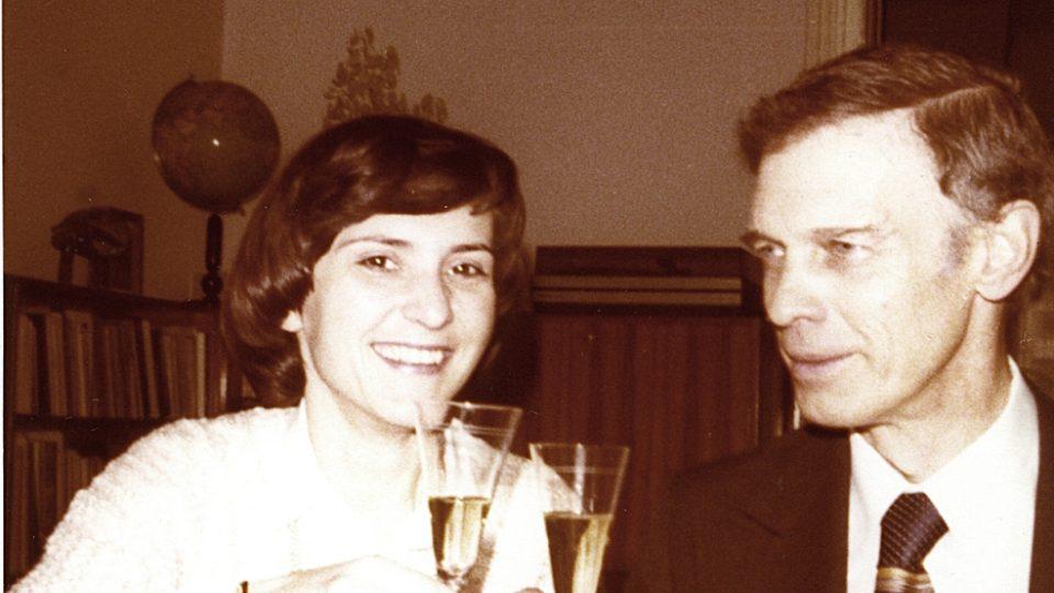 Helena Medková a Ivan Medek, 1979 ve Vídni