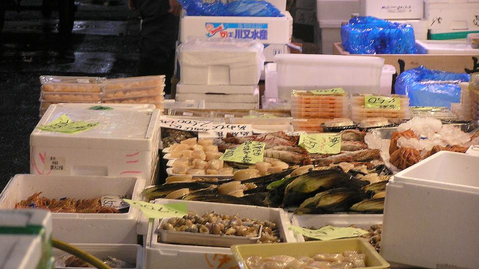 Rybí trh Tsukidži v Tokiu