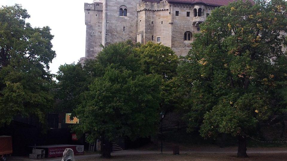 Původní sídlo rodu Lichtenštejnů