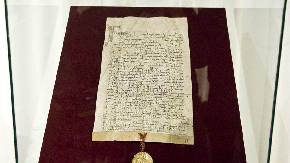 V roce 1212 vydal Fridrich II. hned tři významné dokumenty