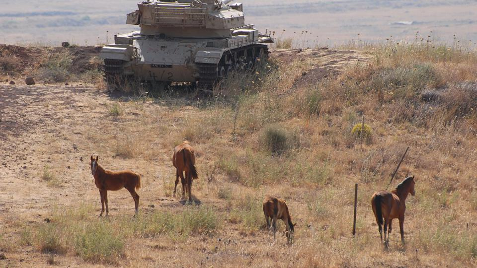 Golany jsou pořád plné pozůstatků izraelsko-arabských válek