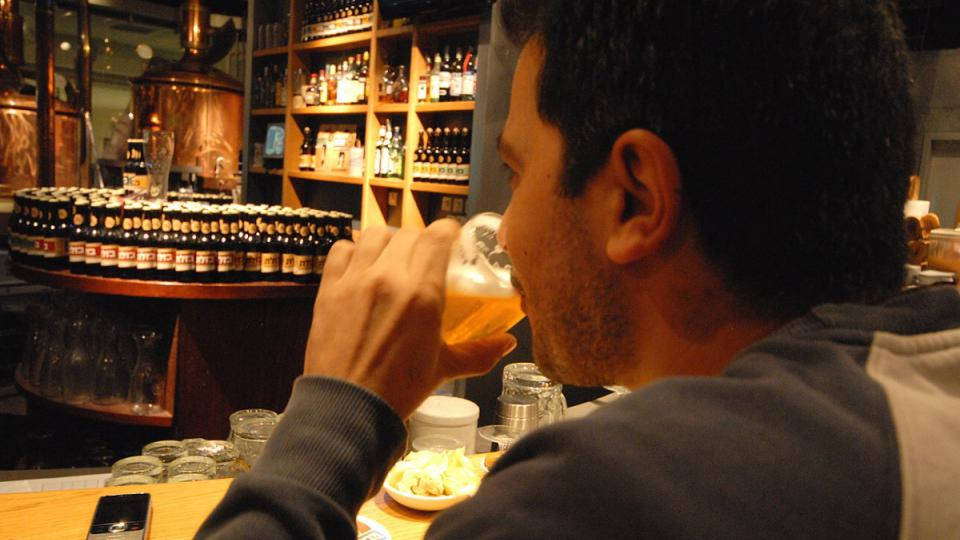 Kromě čtyř točených druhů piva je možné v Kacrinu pořídit i lahvové