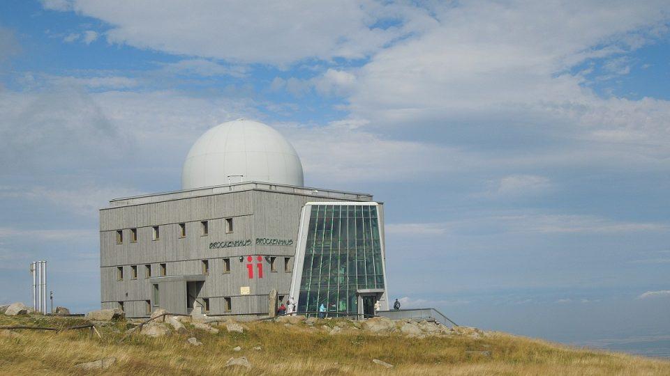 Brocken je nejvyšší horou severního Německa