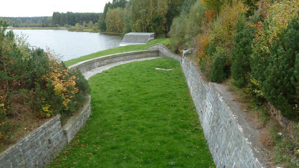 Hamerská přehrada 1