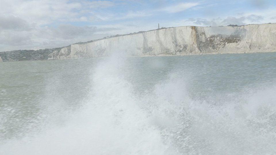 Bílé útesy jsou jedním ze symbolů Británie