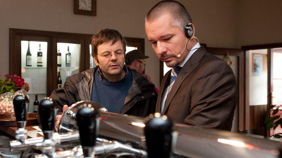 Petr Dudek a Martin Veselovský