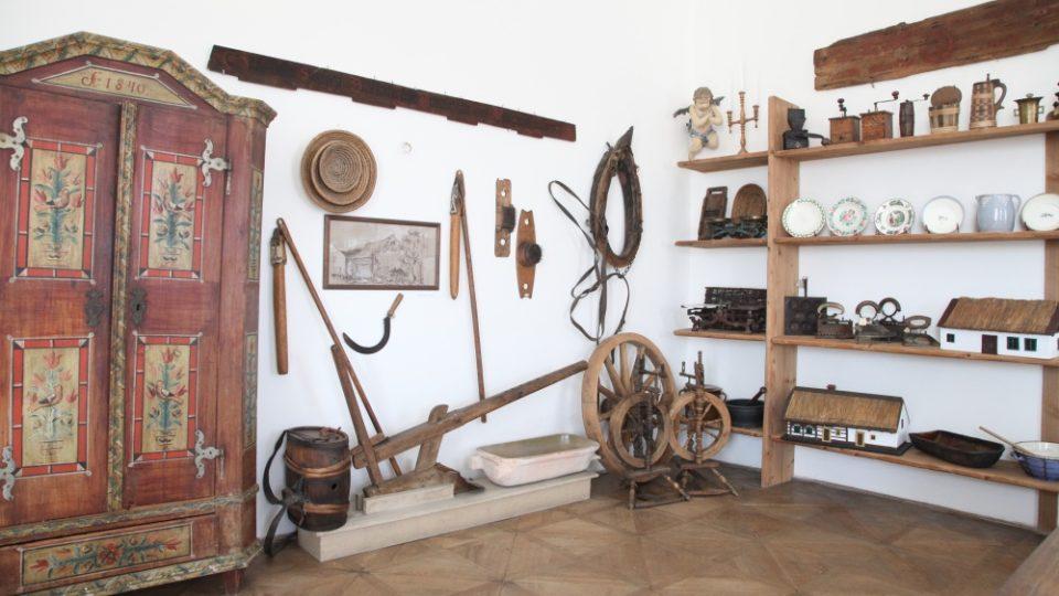 Národopisná část muzea 1