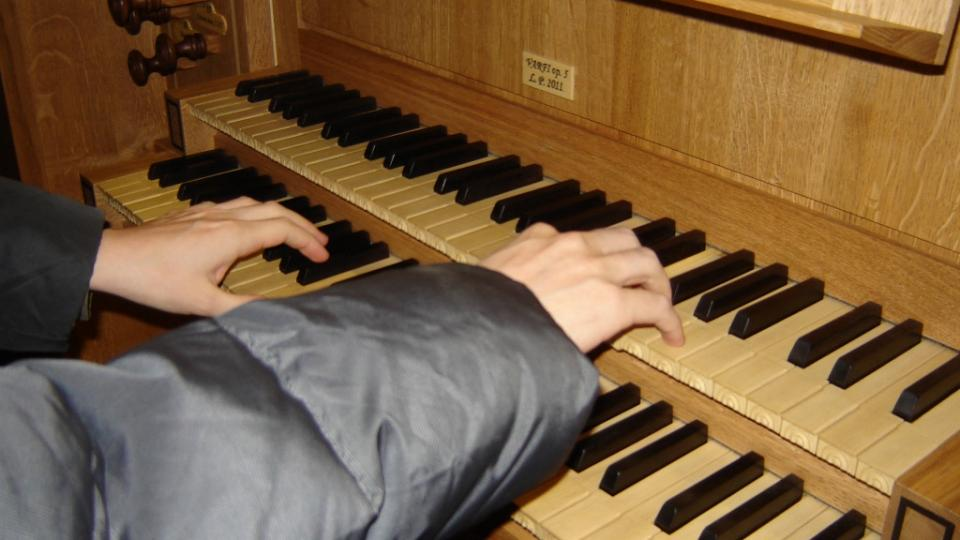 Obyčtov - varhany, hraje Přemysl Kšica