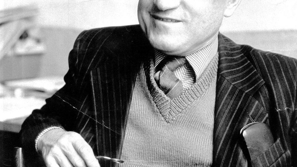 Anglista Jiří Nosek. Z výstavy na FF UK Sto let pražské anglistiky – dějiny a současnost