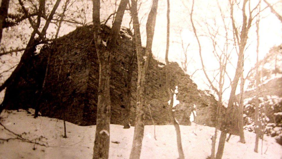 Jinčov v roce 1908 na fotografii Františka Froňka