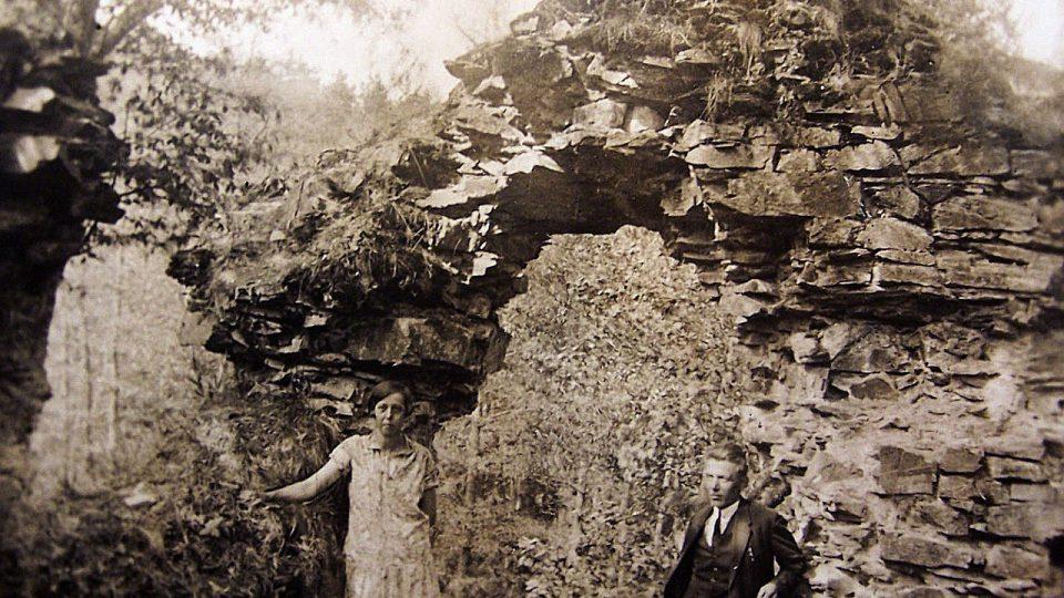 Jinčov v roce 1928 na fotografii Františka Froňka
