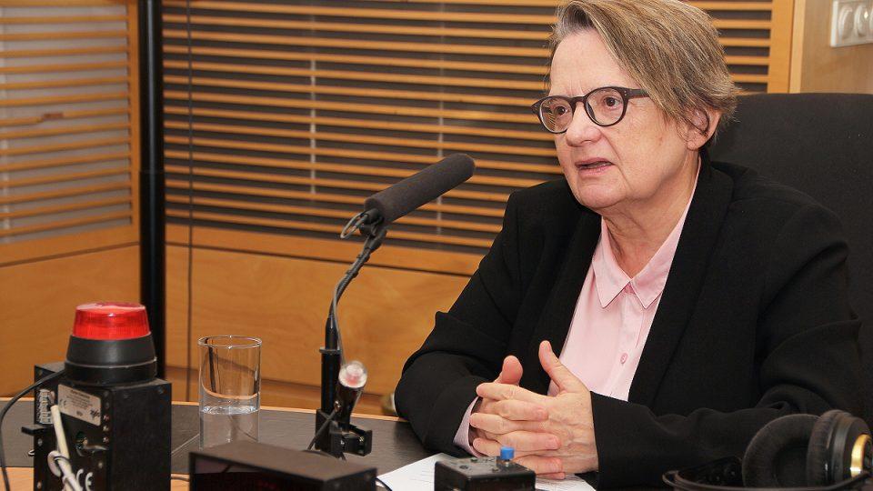 Slavná polská režisérka a scenáristka Agnieszka Holland