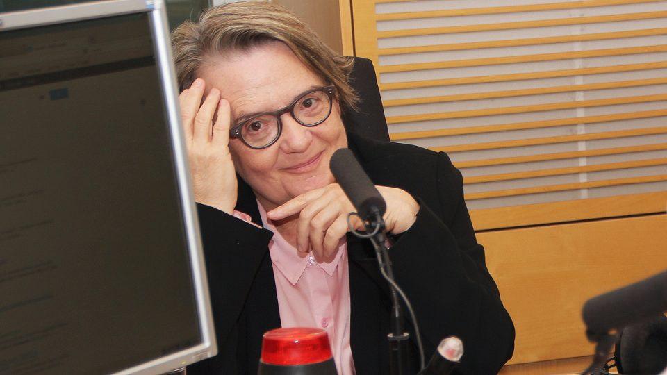 Agnieszka Holland hostem Radiožurnálu
