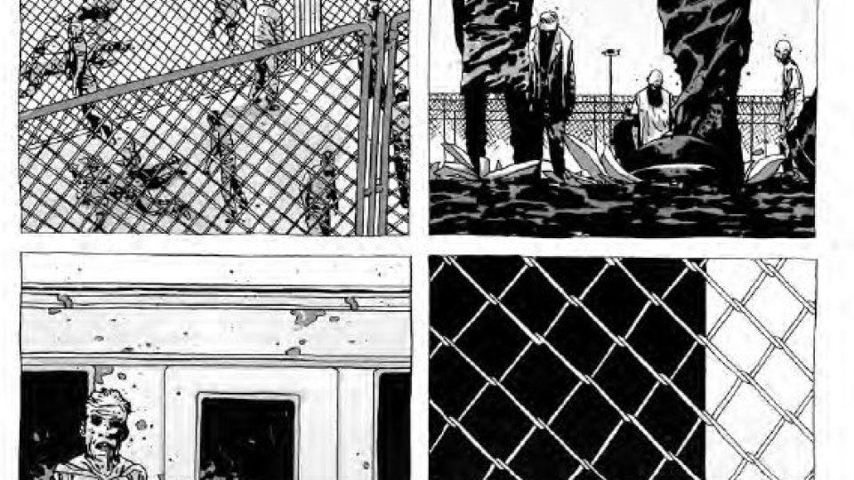 Ukázka z komiksu Živí mrtví - Život plný utrpení