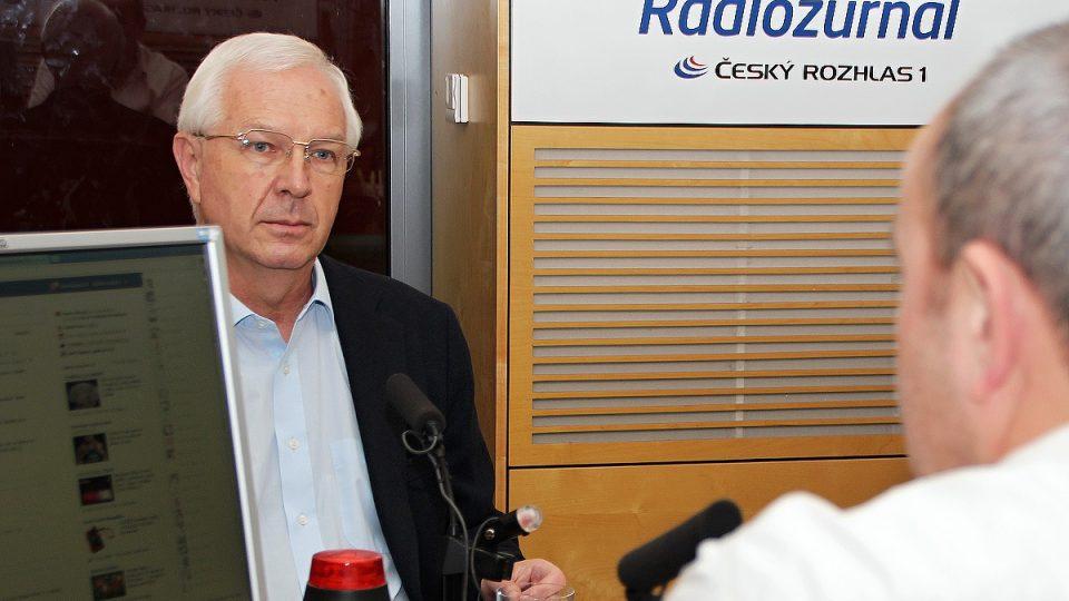 Jiří Drahoš odpovídal na dotazy Jana Pokorného
