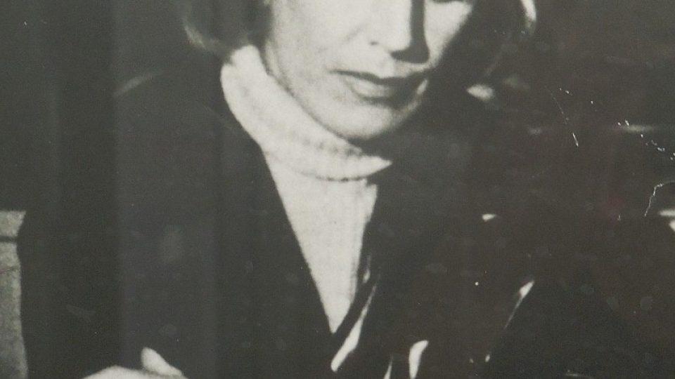 Jedna ze zpěvaččiných fotek